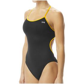 TYR Hexa Trinityfit Swimsuit Women, nero/oro